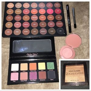 Brand NWT makeup bundle morphe tarte Kat von D